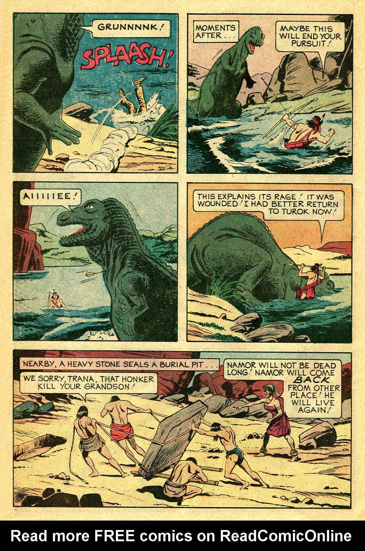 Read online Turok, Son of Stone comic -  Issue #127 - 26