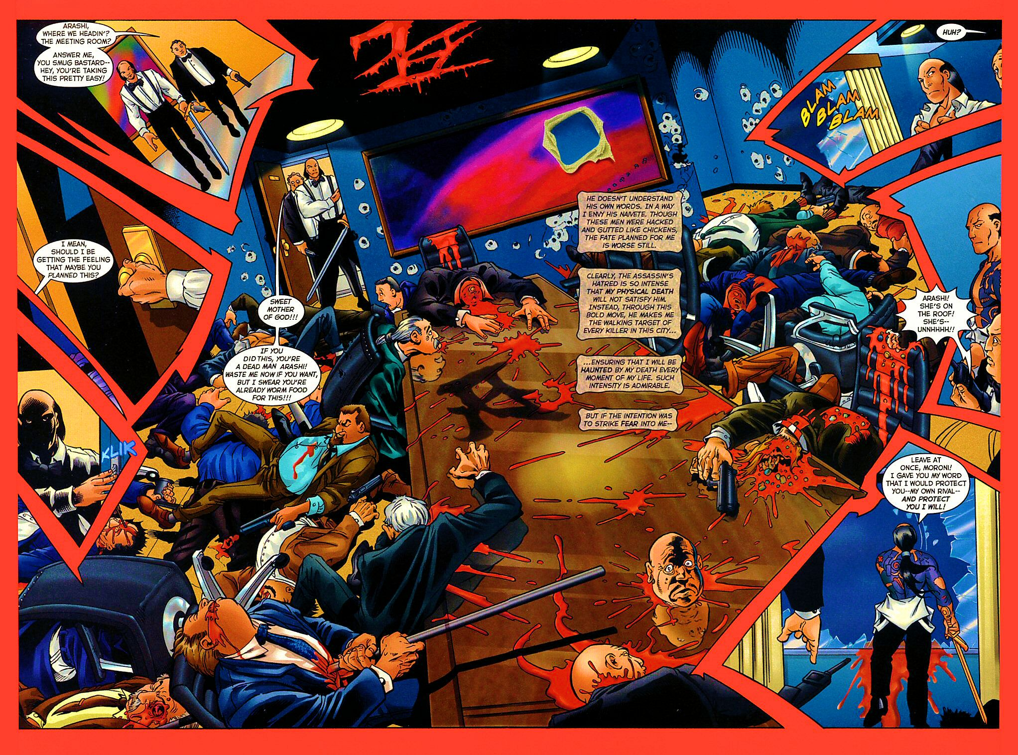 Read online Shi: The Way of the Warrior comic -  Issue #9 - 17
