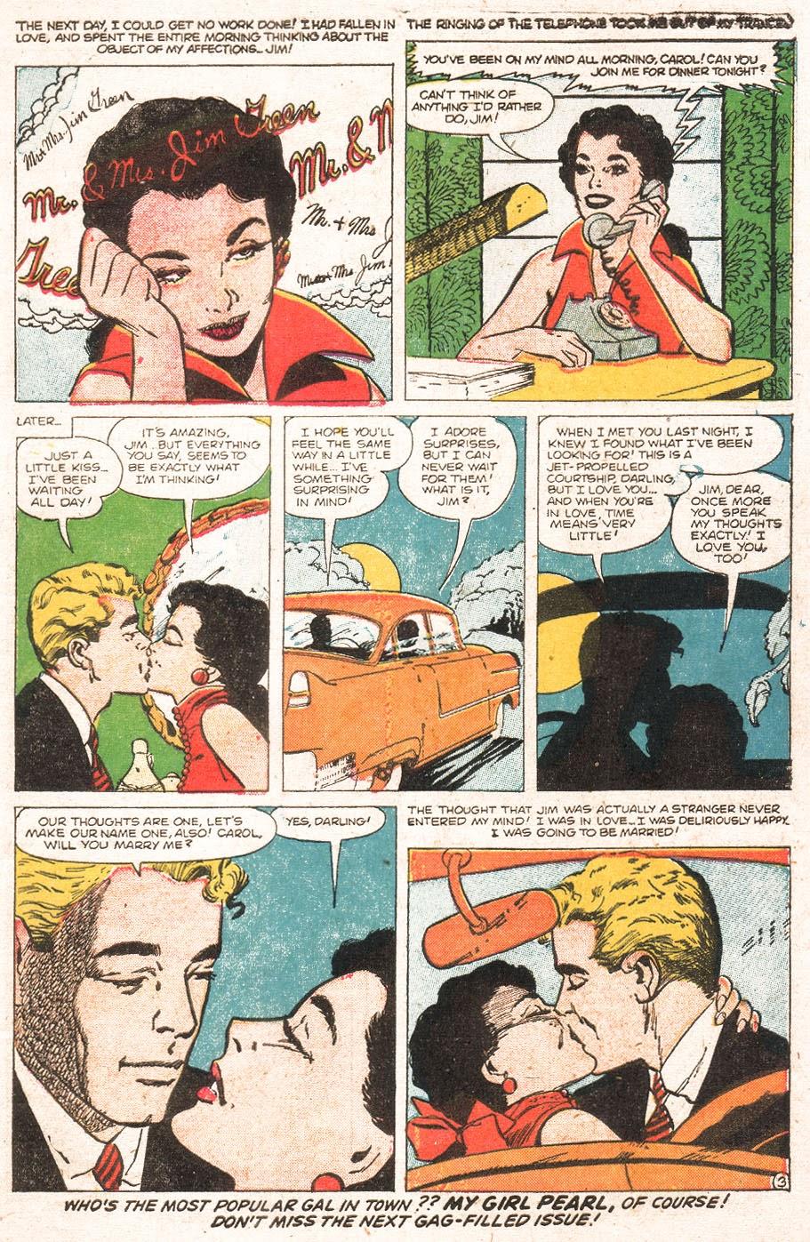 Love Romances (1949) issue 51 - Page 5