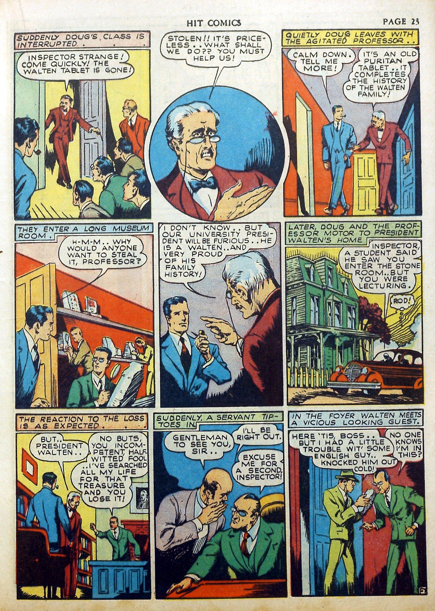 Read online Hit Comics comic -  Issue #17 - 25