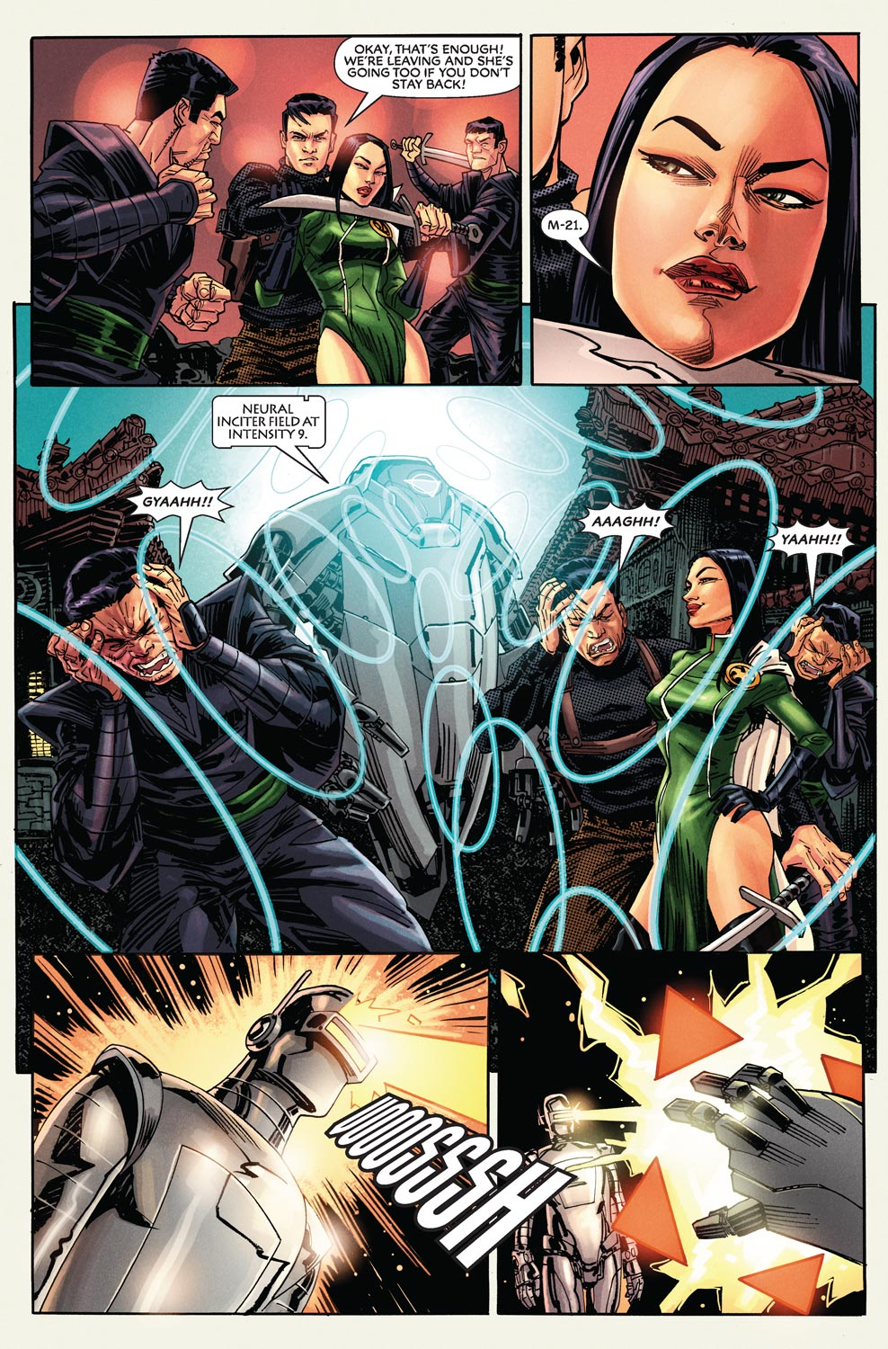 Read online Agents Of Atlas (2009) comic -  Issue #9 - 11