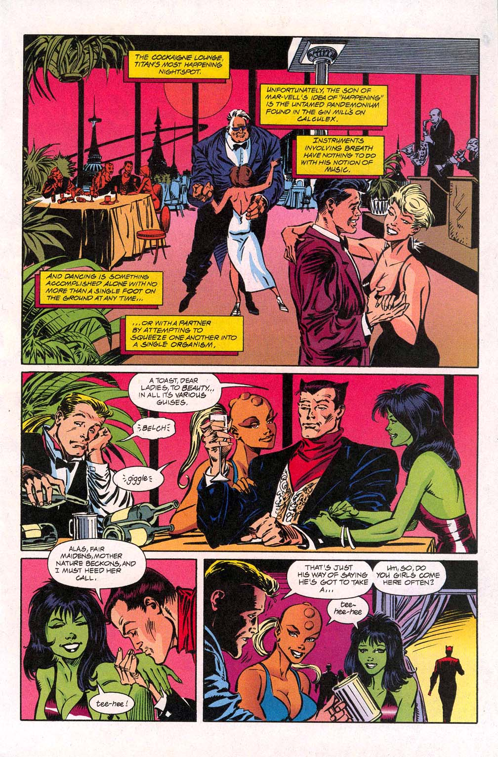 Avengers Unplugged issue 5 - Page 7