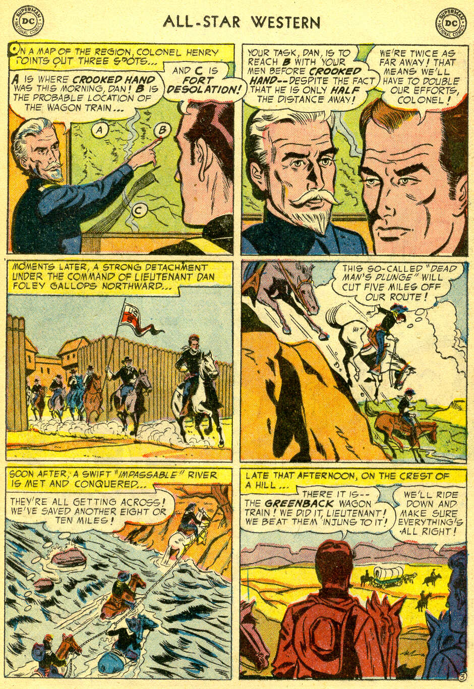 Read online All-Star Western (1951) comic -  Issue #78 - 21