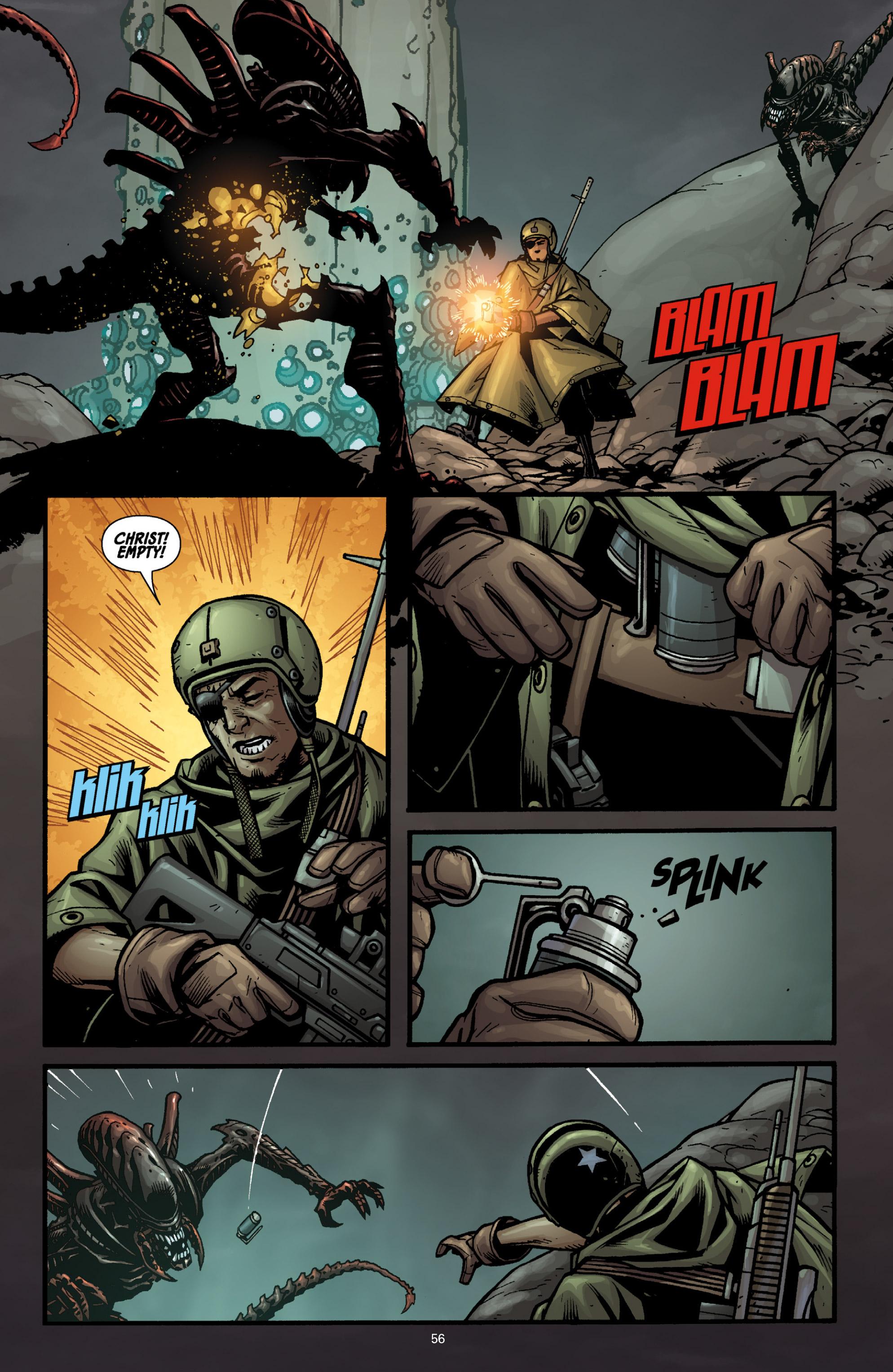 Read online Aliens (2009) comic -  Issue # TPB - 52