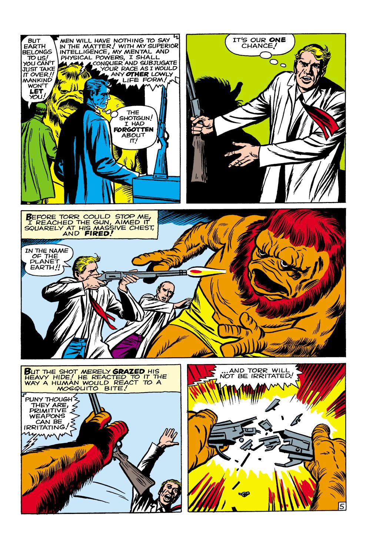Read online Amazing Adventures (1961) comic -  Issue #1 - 6