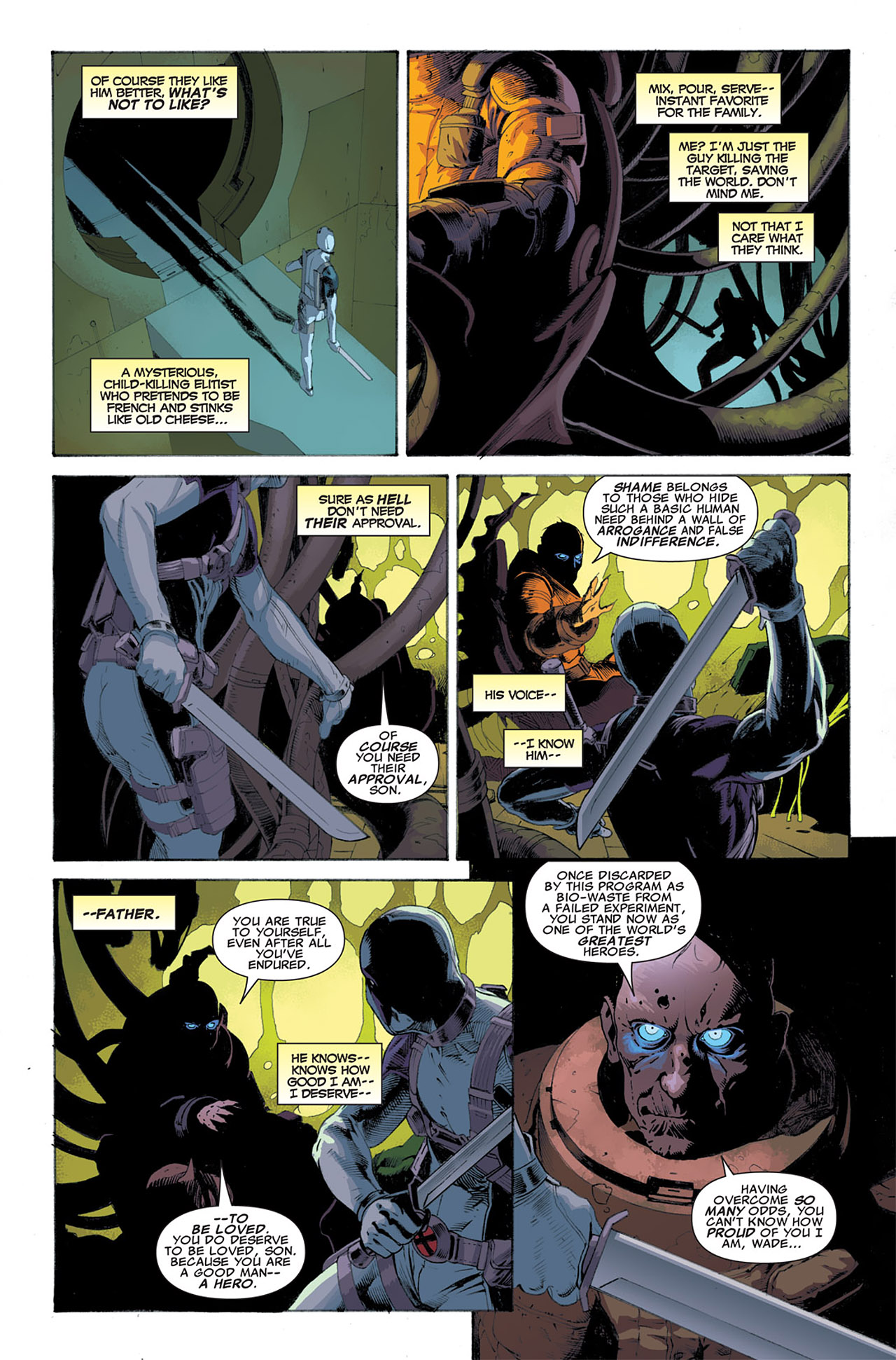 Read online Uncanny X-Force (2010) comic -  Issue #7 - 11