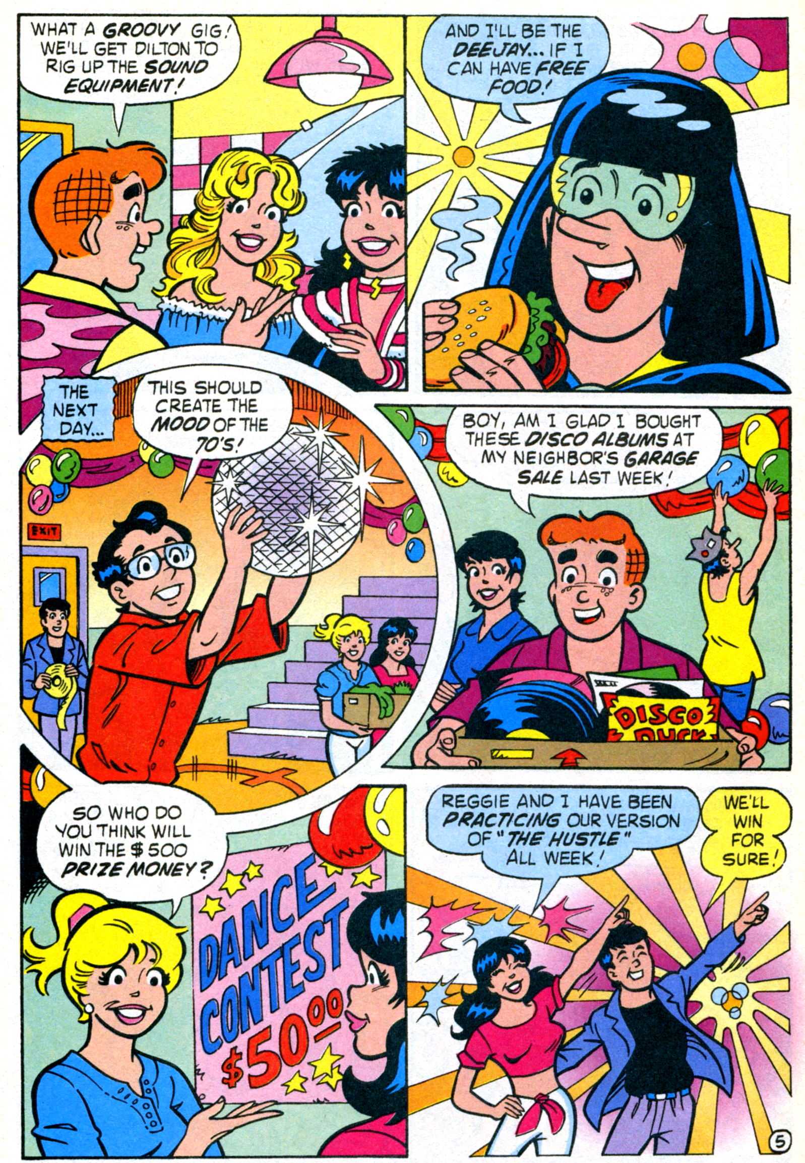 Read online World of Archie comic -  Issue #21 - 32