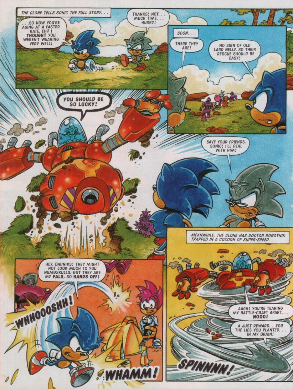 Read online Sonic the Comic comic -  Issue #88 - 30
