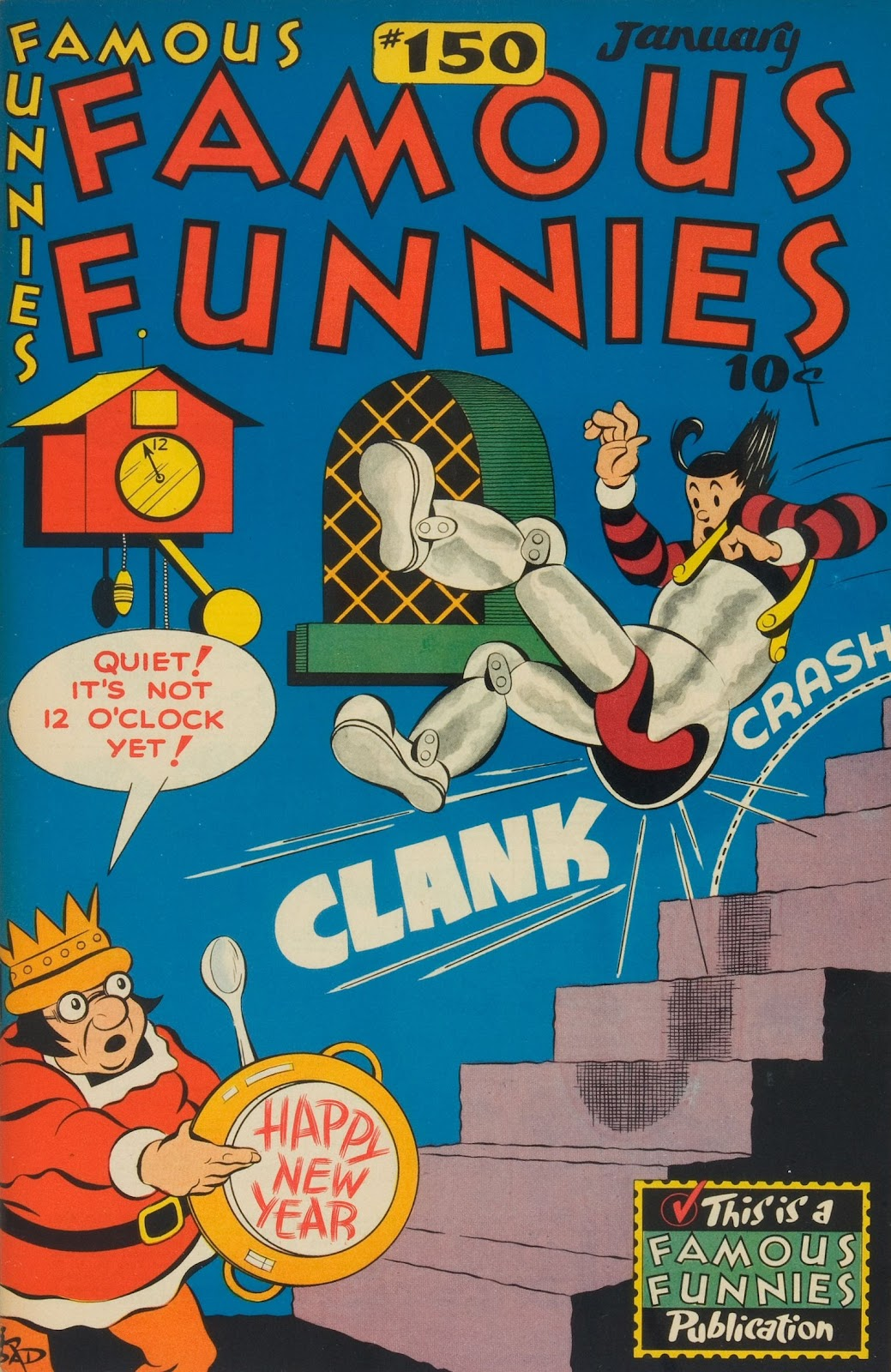 Read online Famous Funnies comic -  Issue #150 - 1