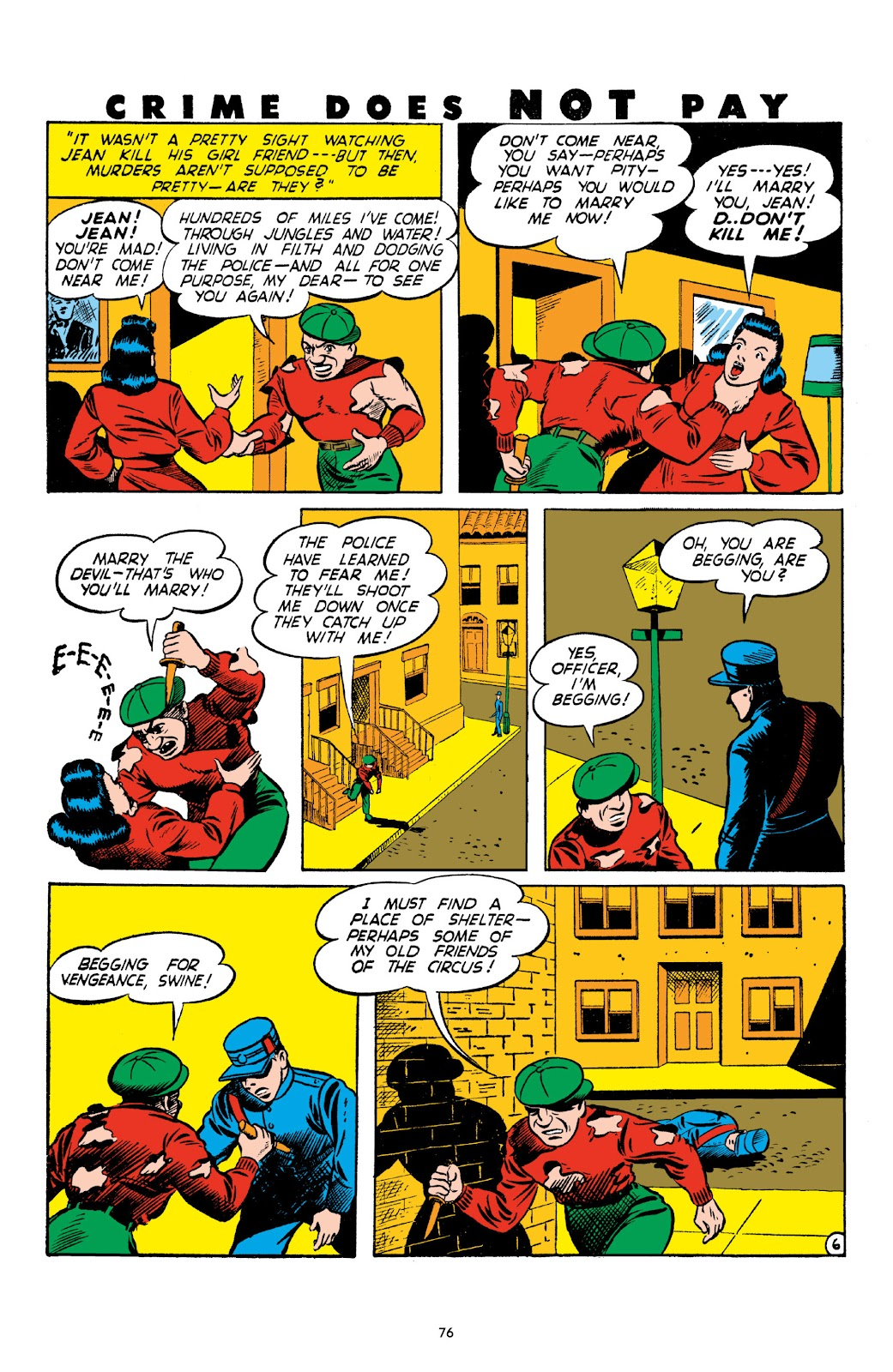Read online Crime Does Not Pay Archives comic -  Issue # TPB 3 (Part 1) - 76