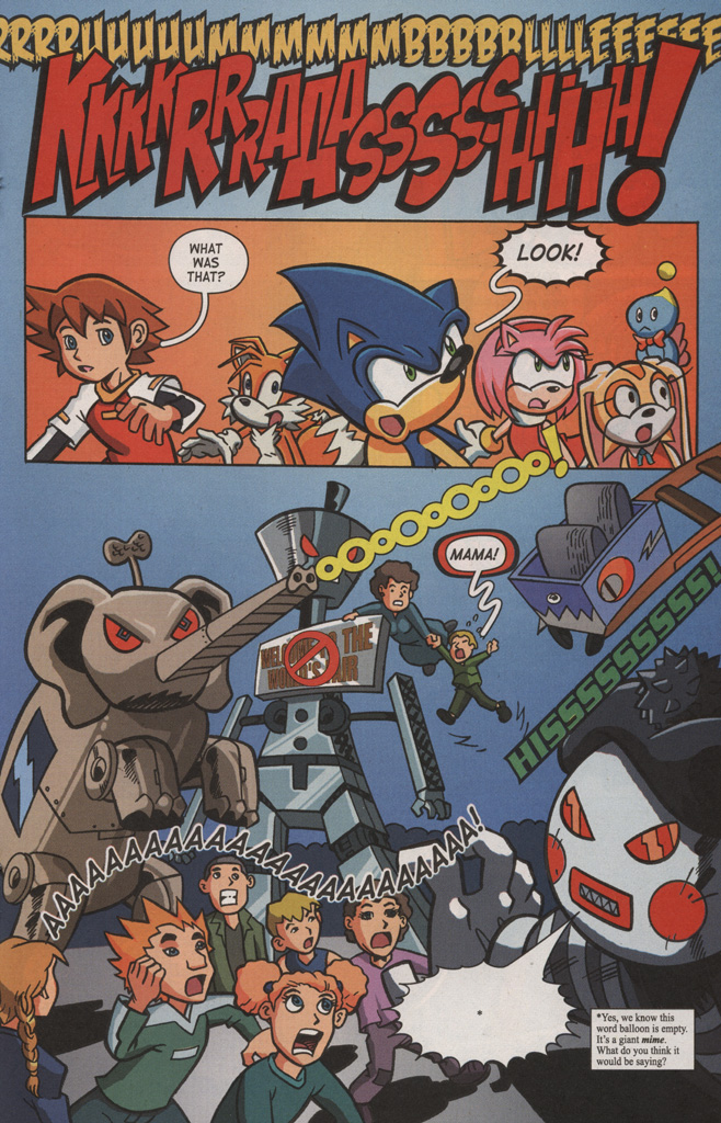 Read online Sonic X comic -  Issue #8 - 19
