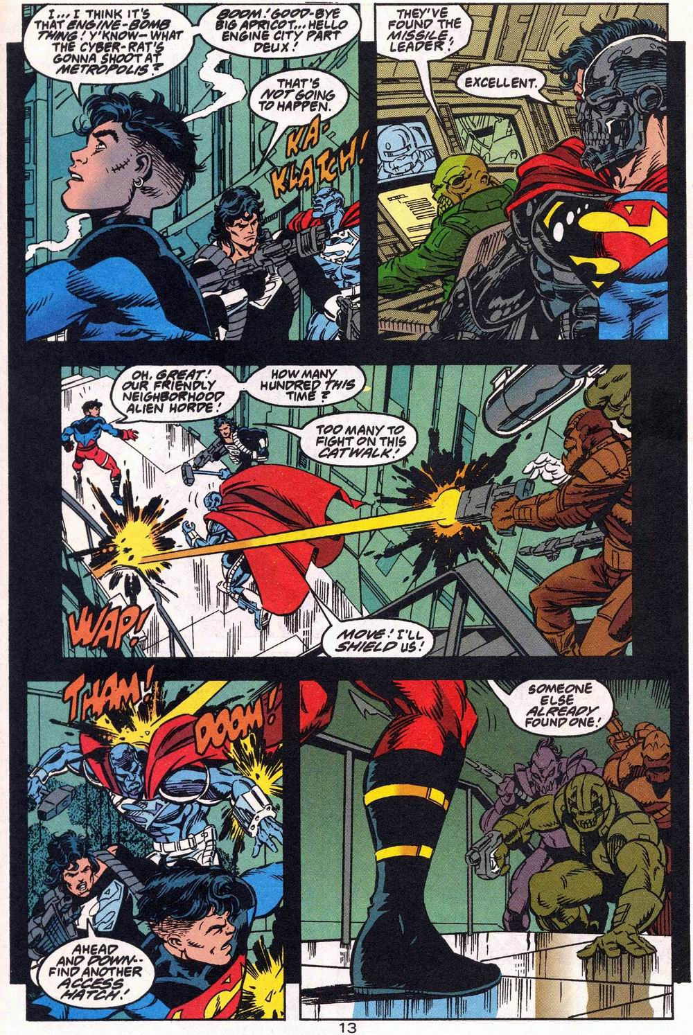 Read online Adventures of Superman (1987) comic -  Issue #504 - 14