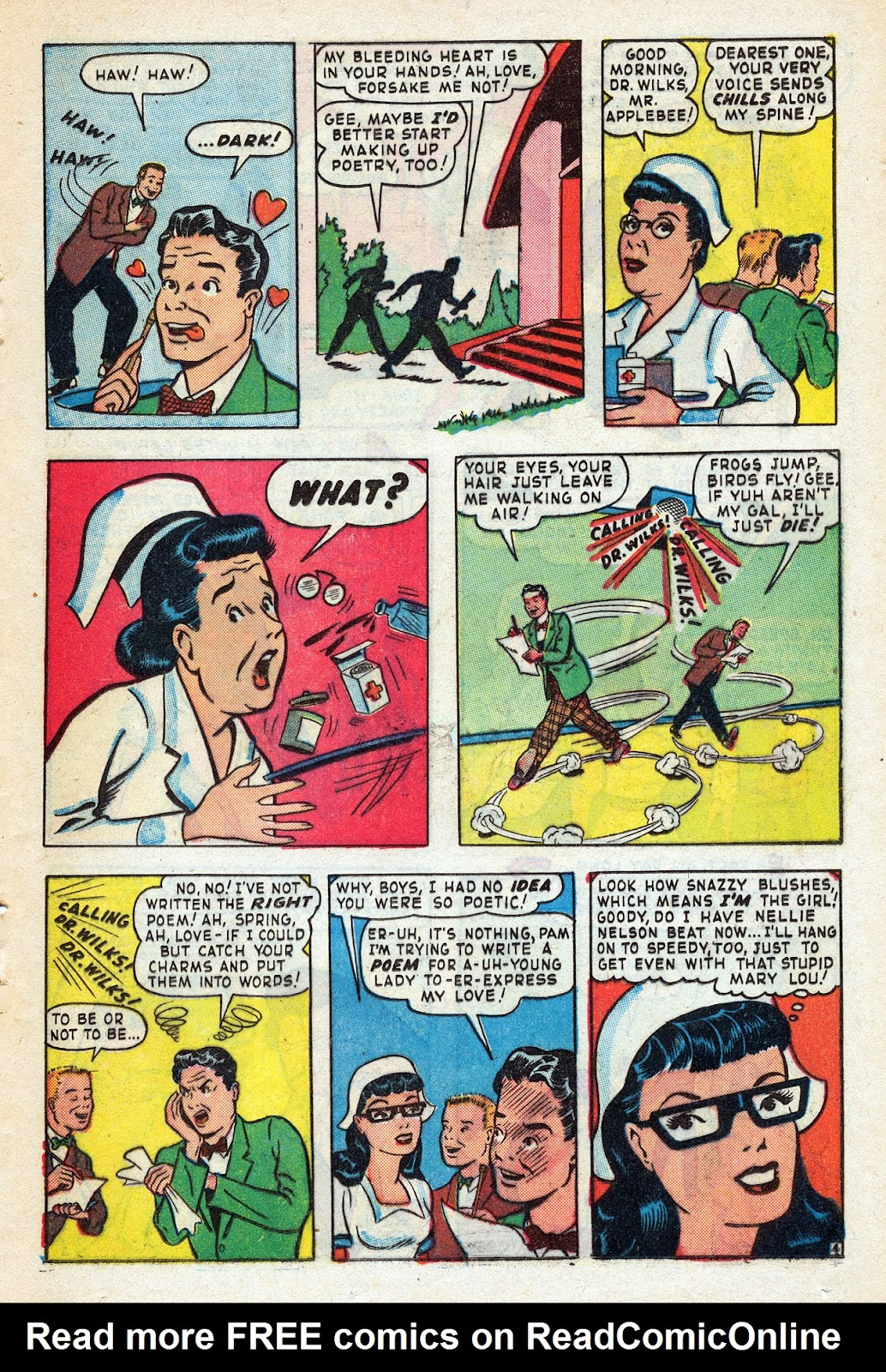 Read online Nellie The Nurse (1945) comic -  Issue #14 - 35
