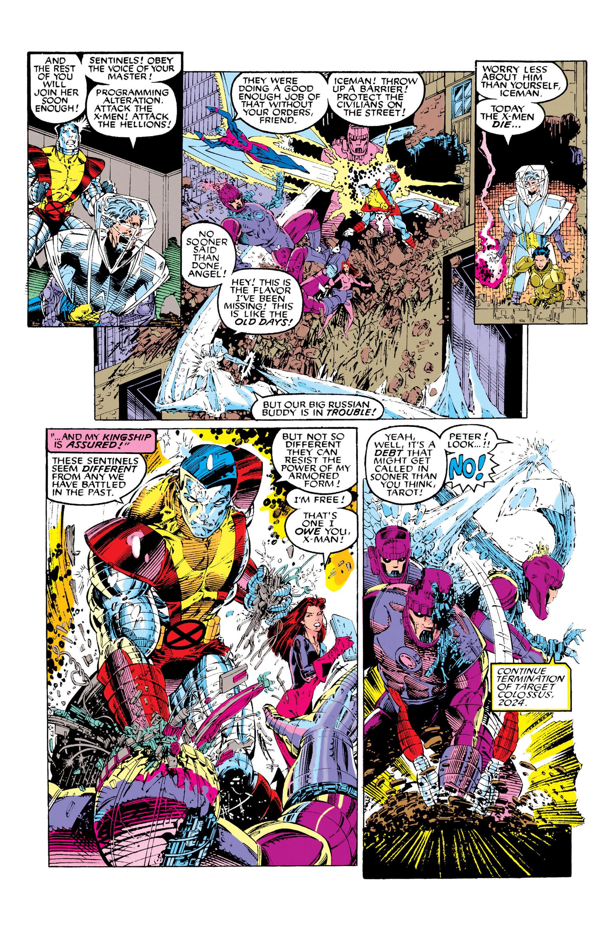Read online Uncanny X-Men (1963) comic -  Issue #281 - 20