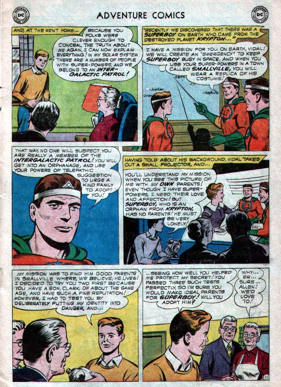 Read online Adventure Comics (1938) comic -  Issue #260 - 13