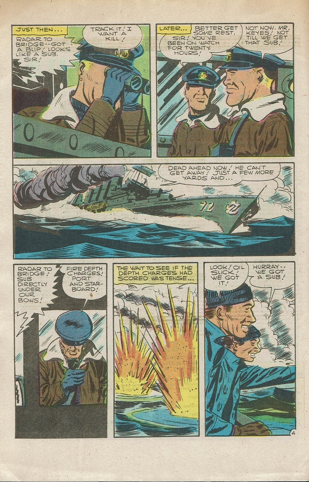 Read online Fightin' Navy comic -  Issue #126 - 6
