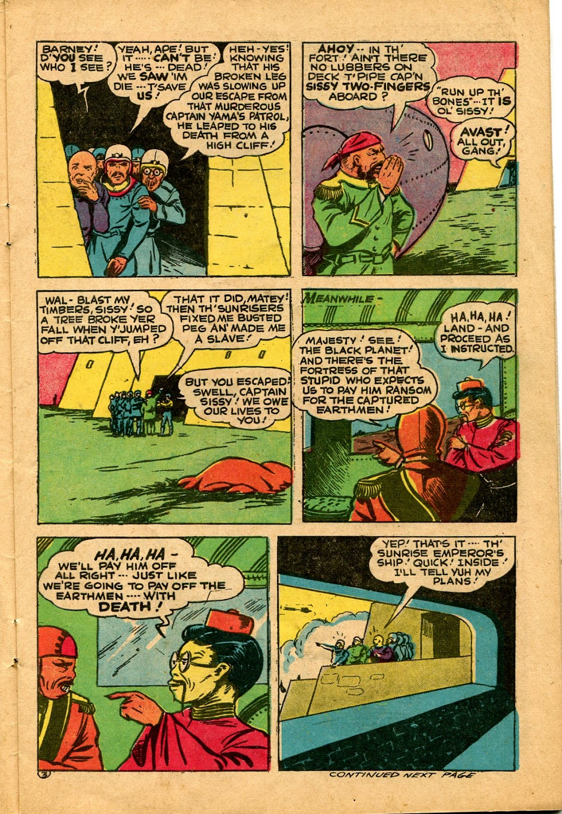Read online Famous Funnies comic -  Issue #136 - 7