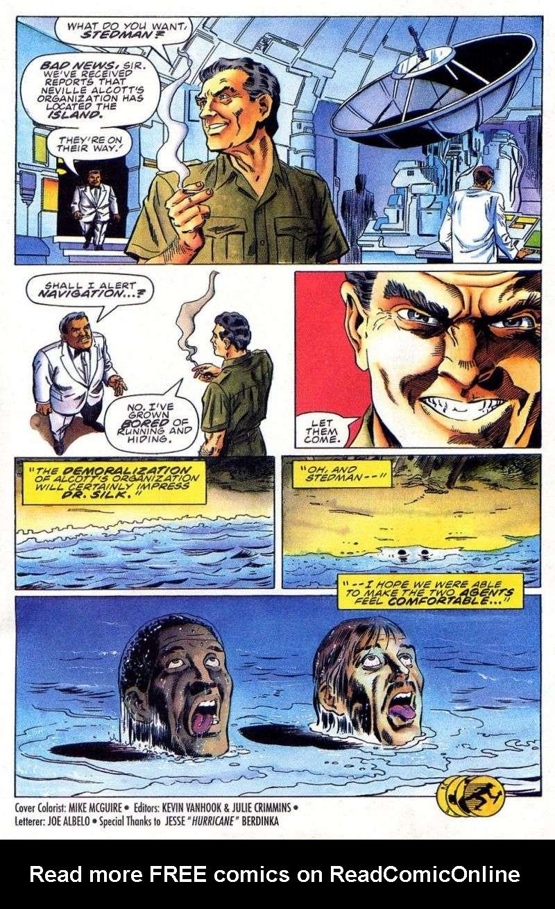 Read online Secret Weapons comic -  Issue #11 - 25
