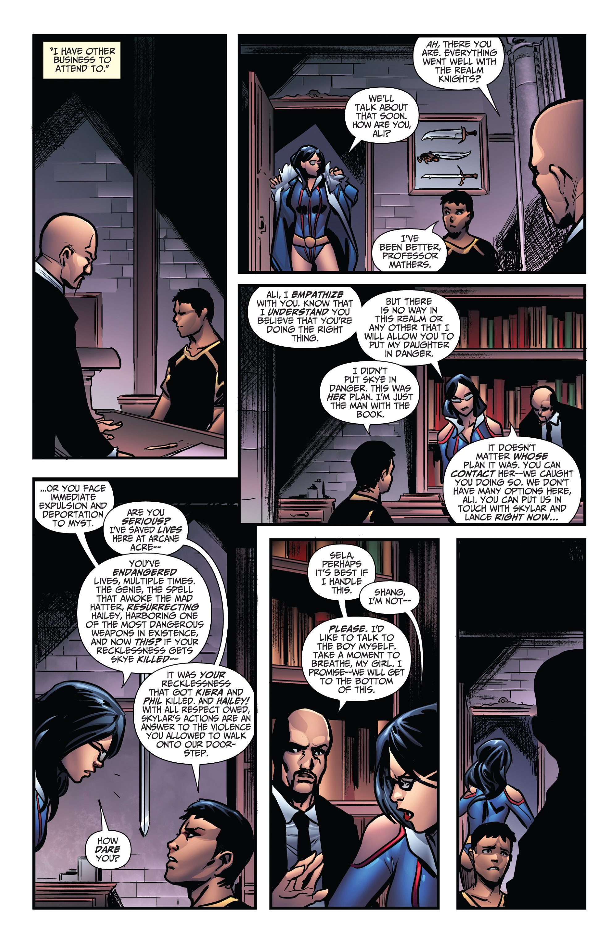 Read online Grimm Fairy Tales: Arcane Acre comic -  Issue # TPB 4 - 35