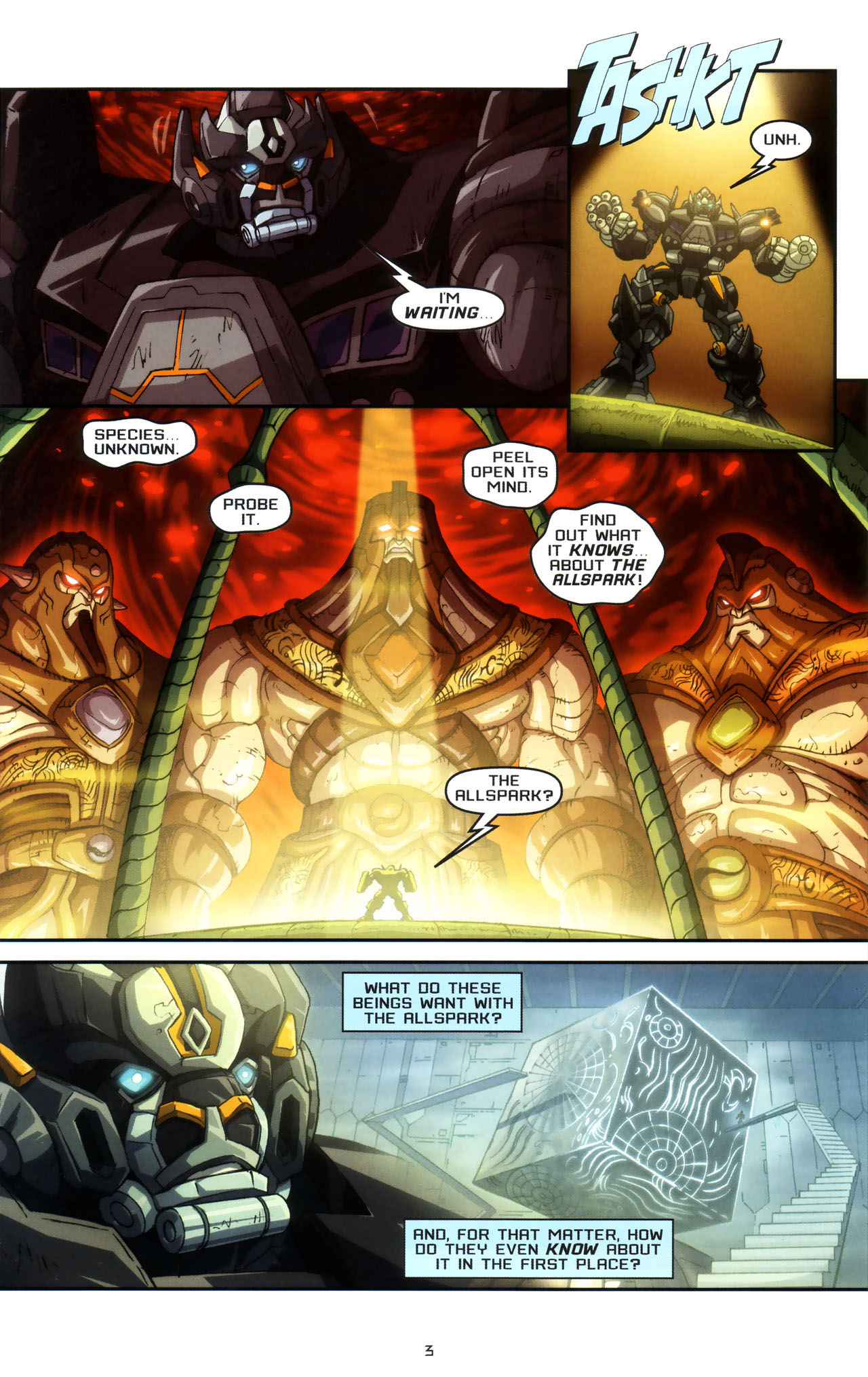 Read online Transformers: Saga of the Allspark comic -  Issue #3 - 6