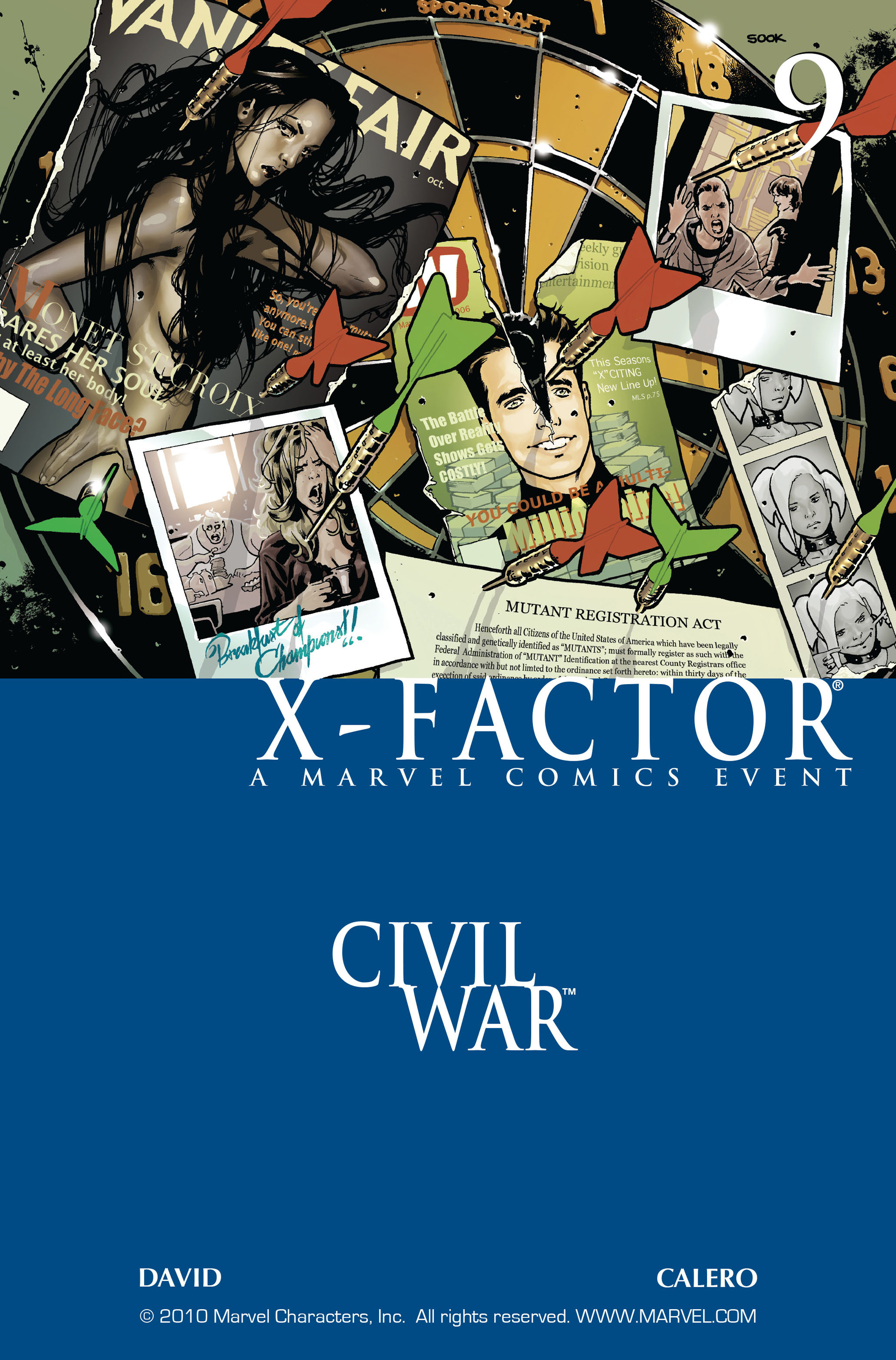 Read online X-Factor (2006) comic -  Issue #9 - 1