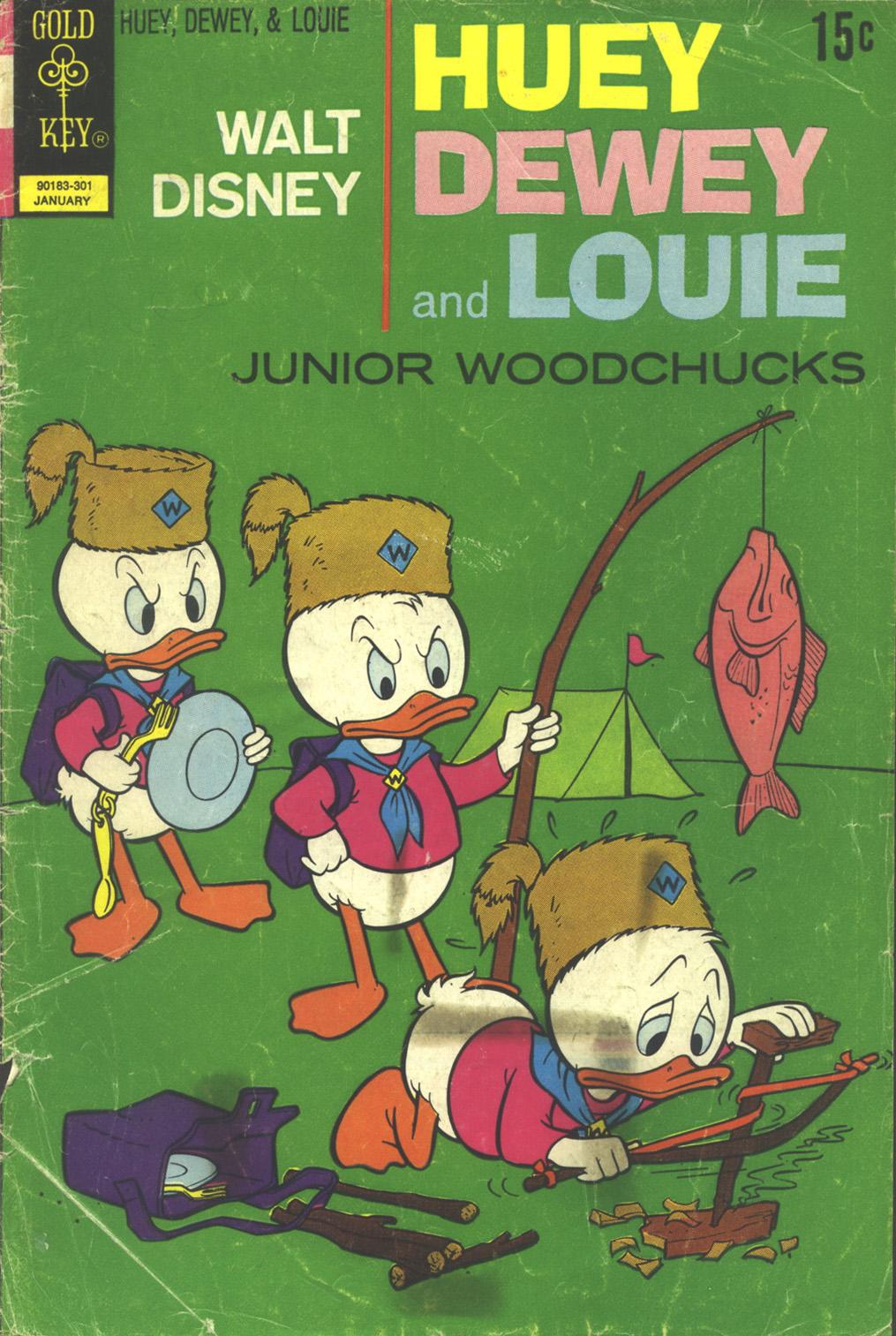 Huey, Dewey, and Louie Junior Woodchucks 18 Page 1