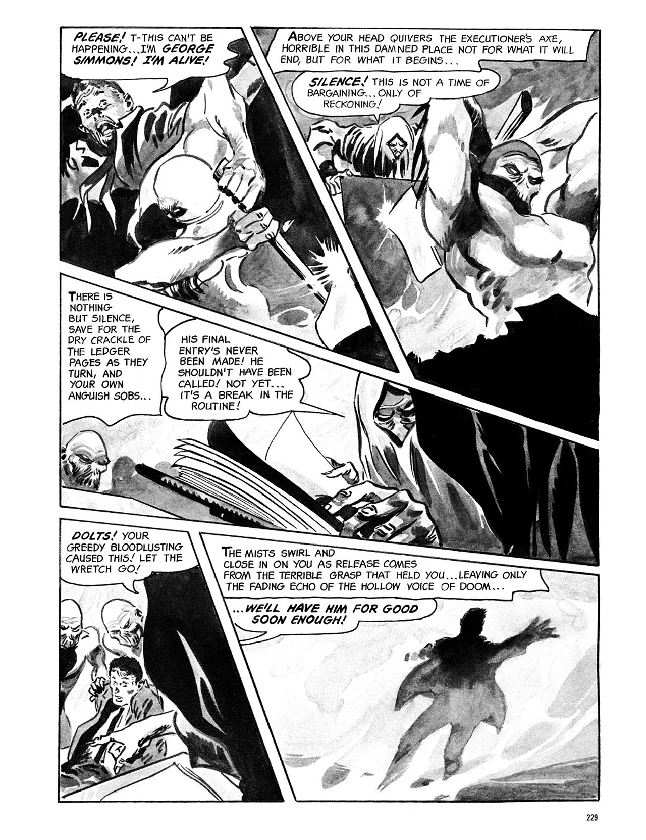 Read online Eerie Archives comic -  Issue # TPB 1 - 230