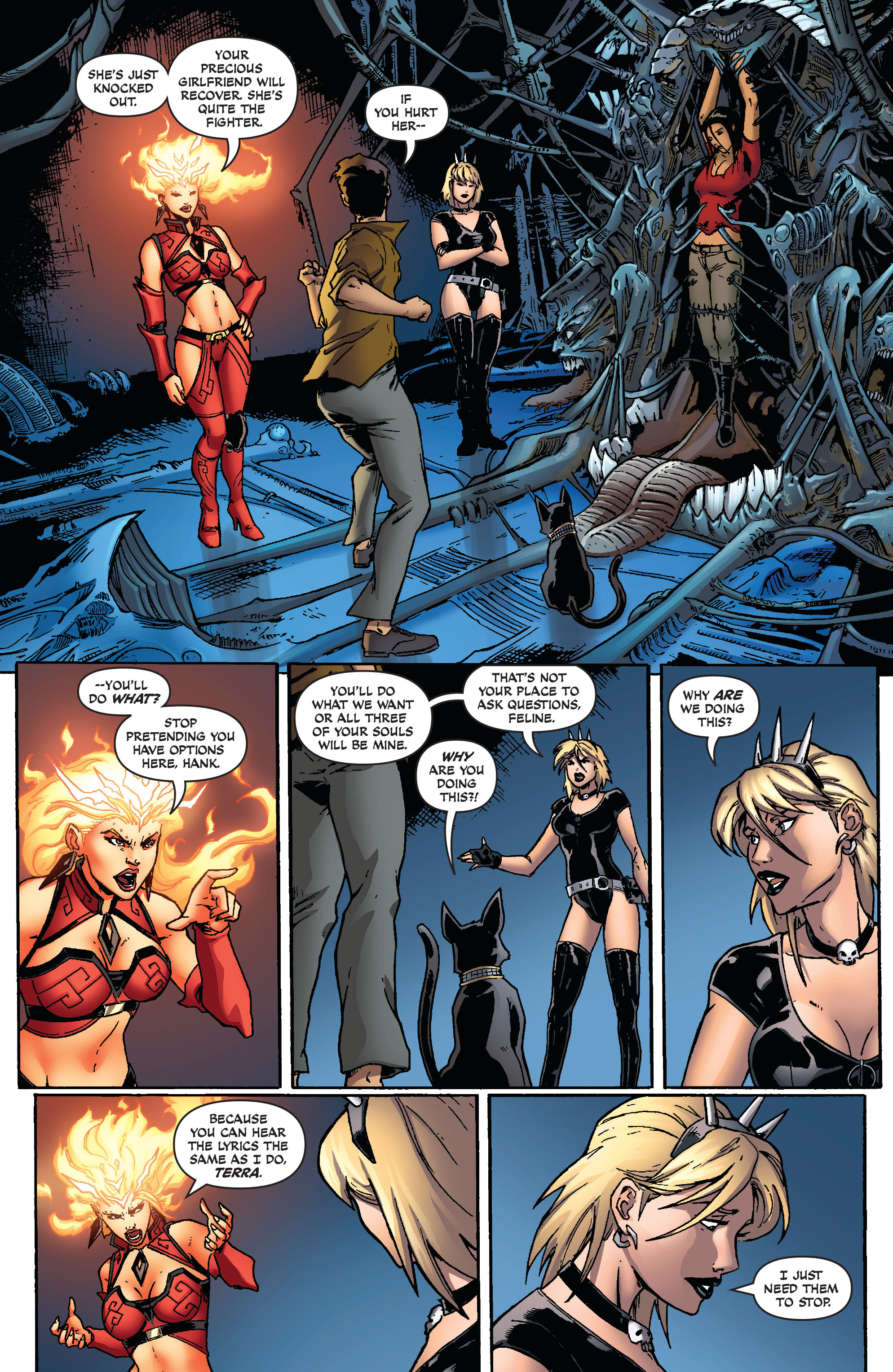 Read online Aspen Universe: Decimation comic -  Issue # Full - 9