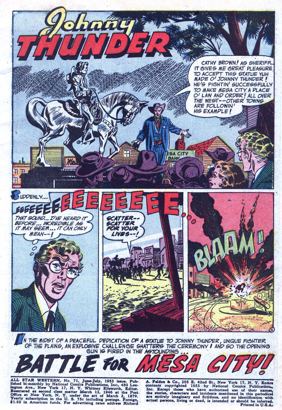 Read online All-Star Western (1951) comic -  Issue #71 - 3