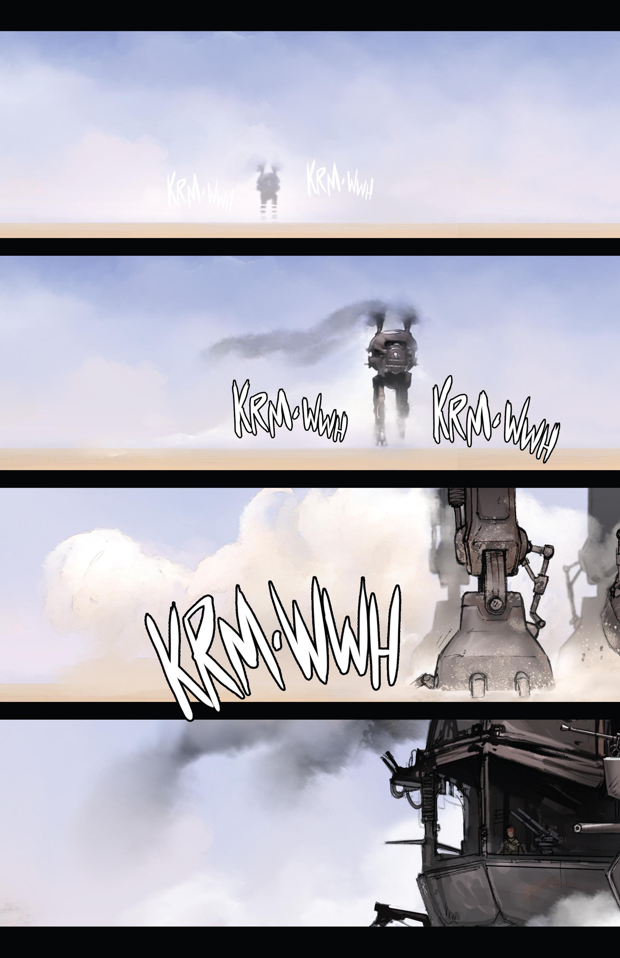 Read online Steam Wars: First Empire comic -  Issue #3 - 8