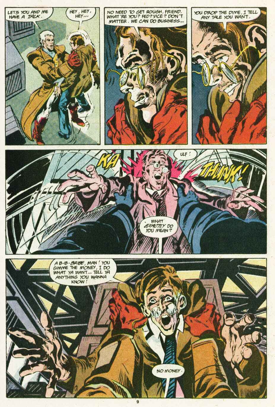 Read online Justice (1986) comic -  Issue #12 - 10