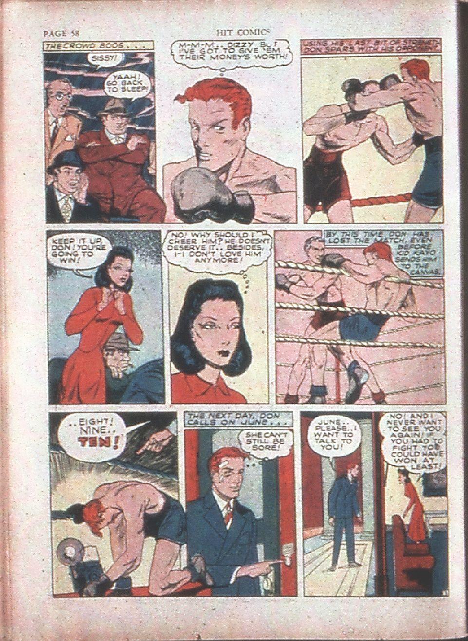 Read online Hit Comics comic -  Issue #15 - 60