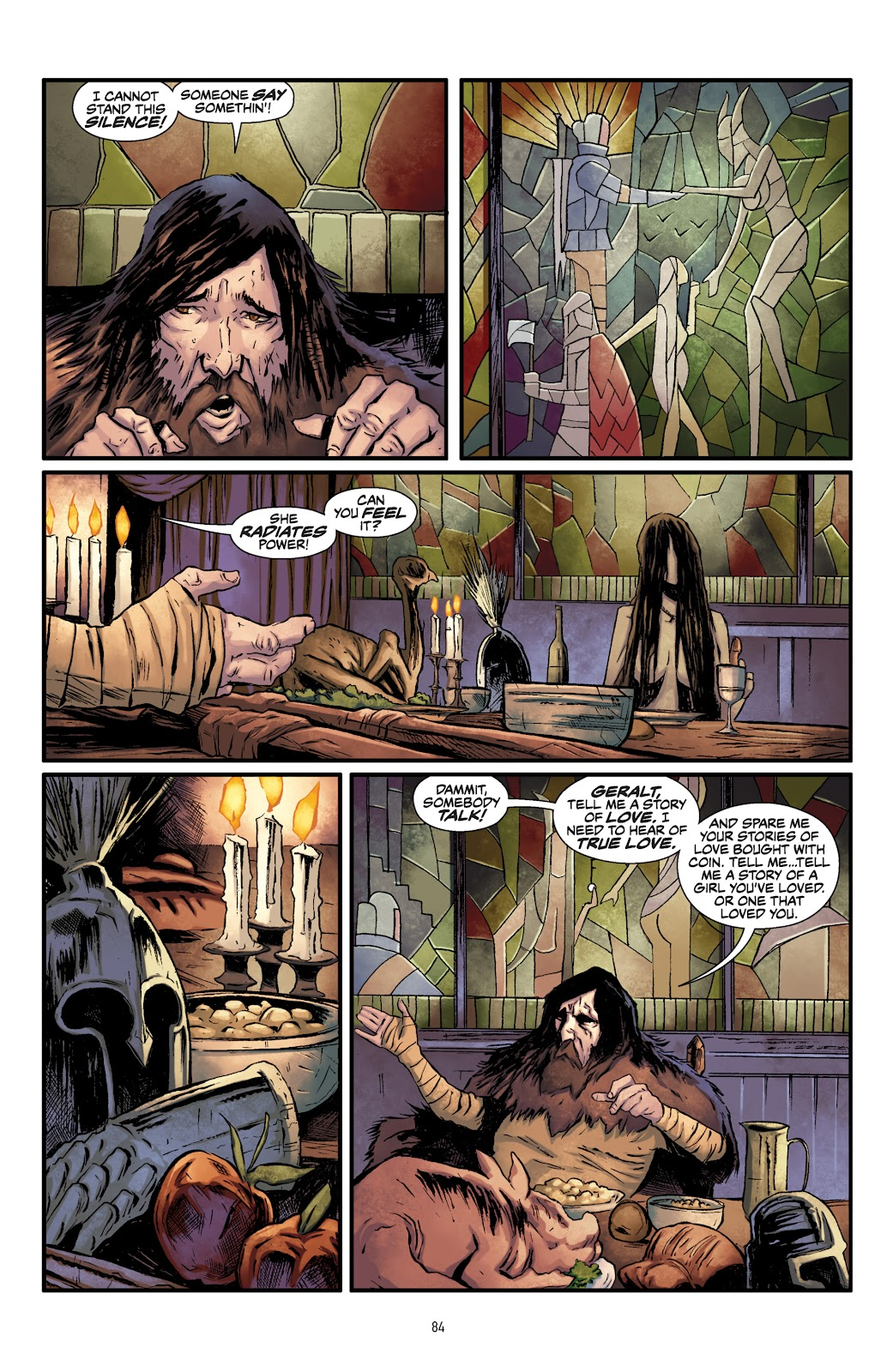 Read online The Witcher Omnibus comic -  Issue # TPB (Part 1) - 82
