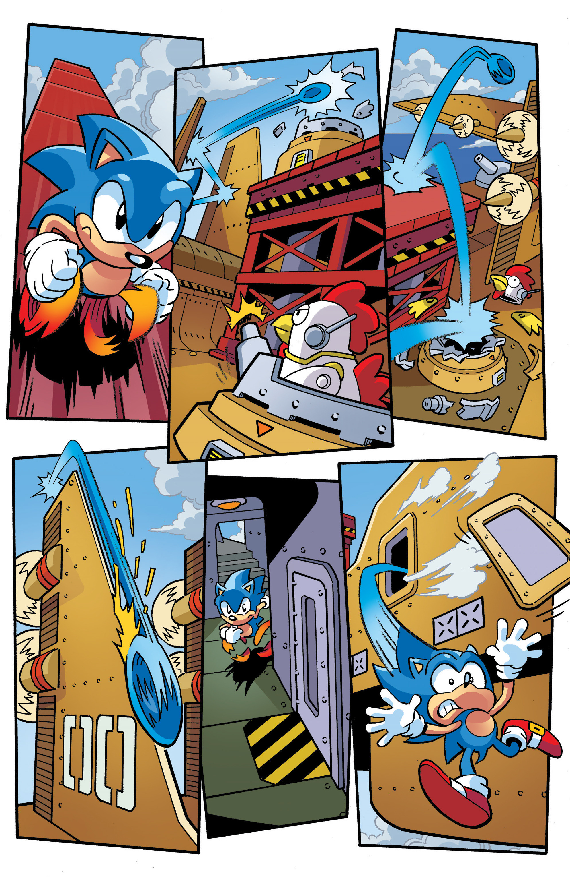 Read online Sonic The Hedgehog comic -  Issue #289 - 7