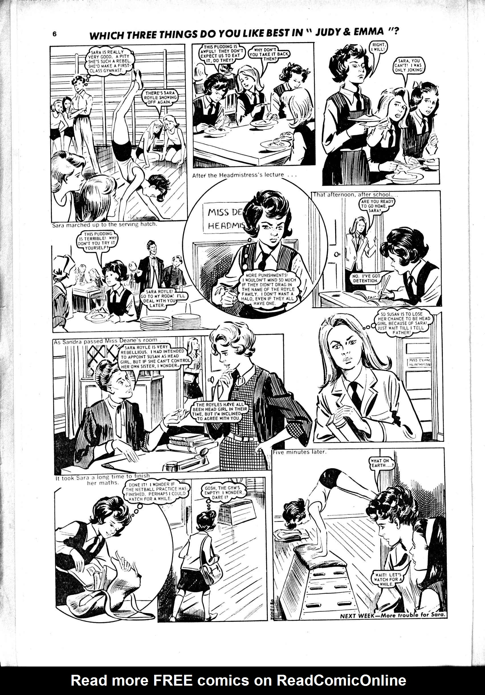 Read online Judy comic -  Issue #43 - 6