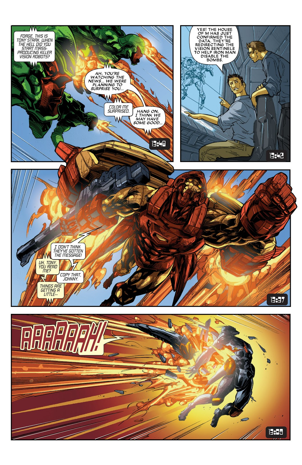 Iron Man: House of M Issue #3 #3 - English 9