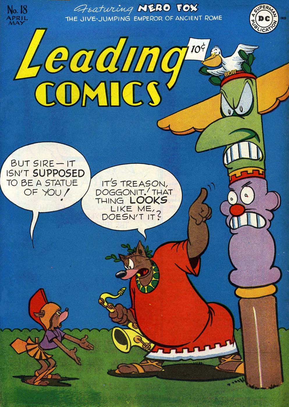 Leading Comics 18 Page 1