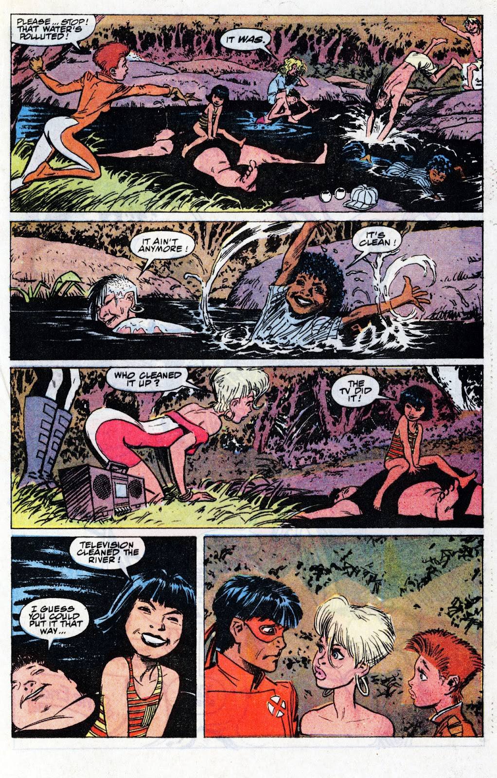 The New Mutants Summer Special issue Full - Page 75