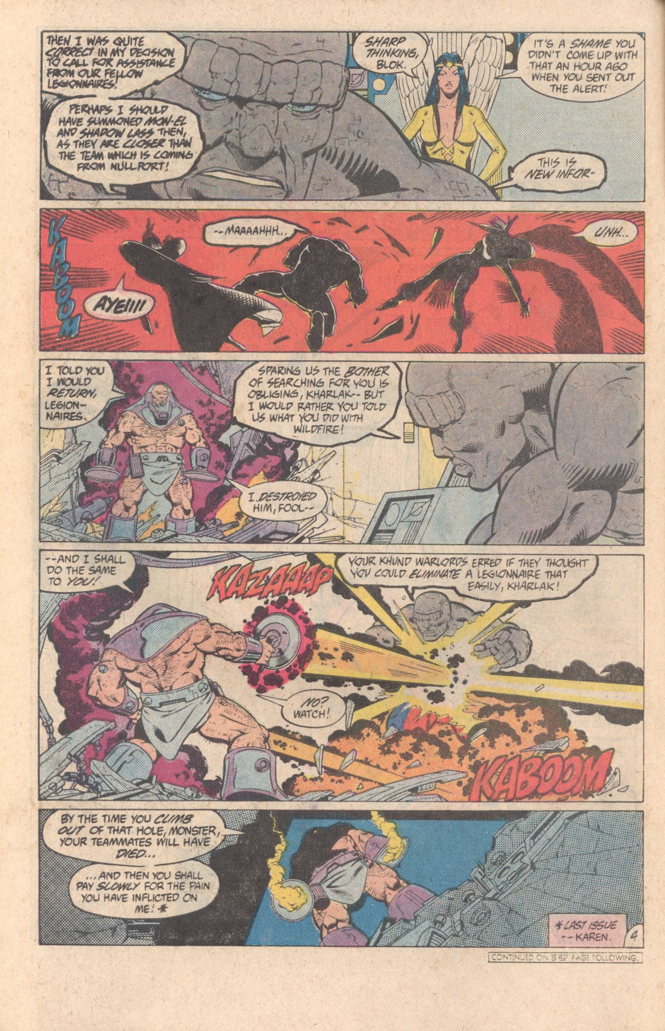 Legion of Super-Heroes (1980) 299 Page 4