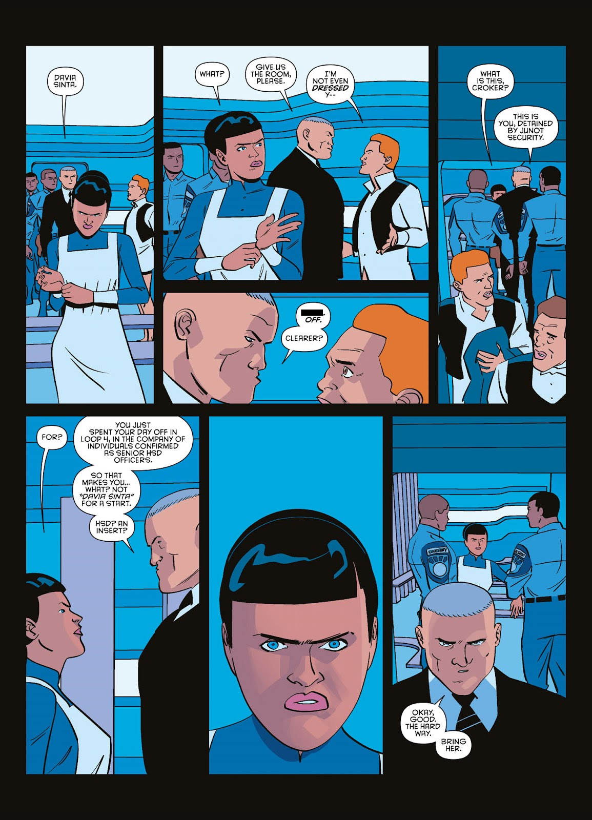 Read online Brink comic -  Issue # TPB 3 - 48