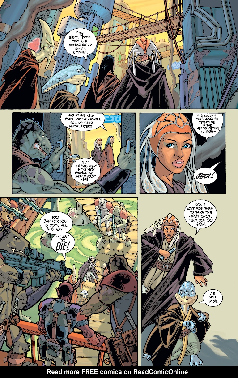 Read online Star Wars Legends: Rise of the Sith - Epic Collection comic -  Issue # TPB 1 (Part 5) - 1