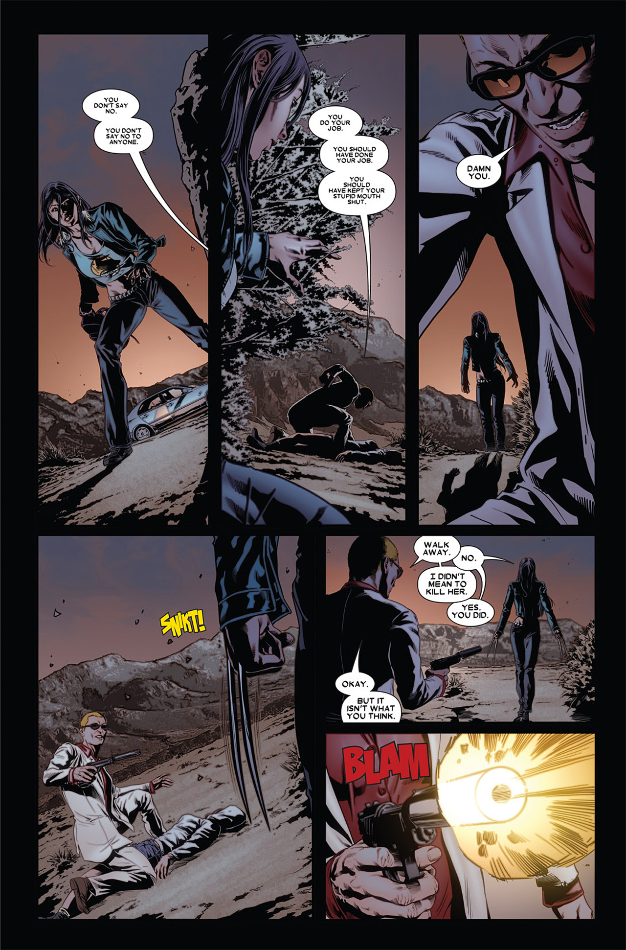Read online X-23 (2010) comic -  Issue #4 - 11