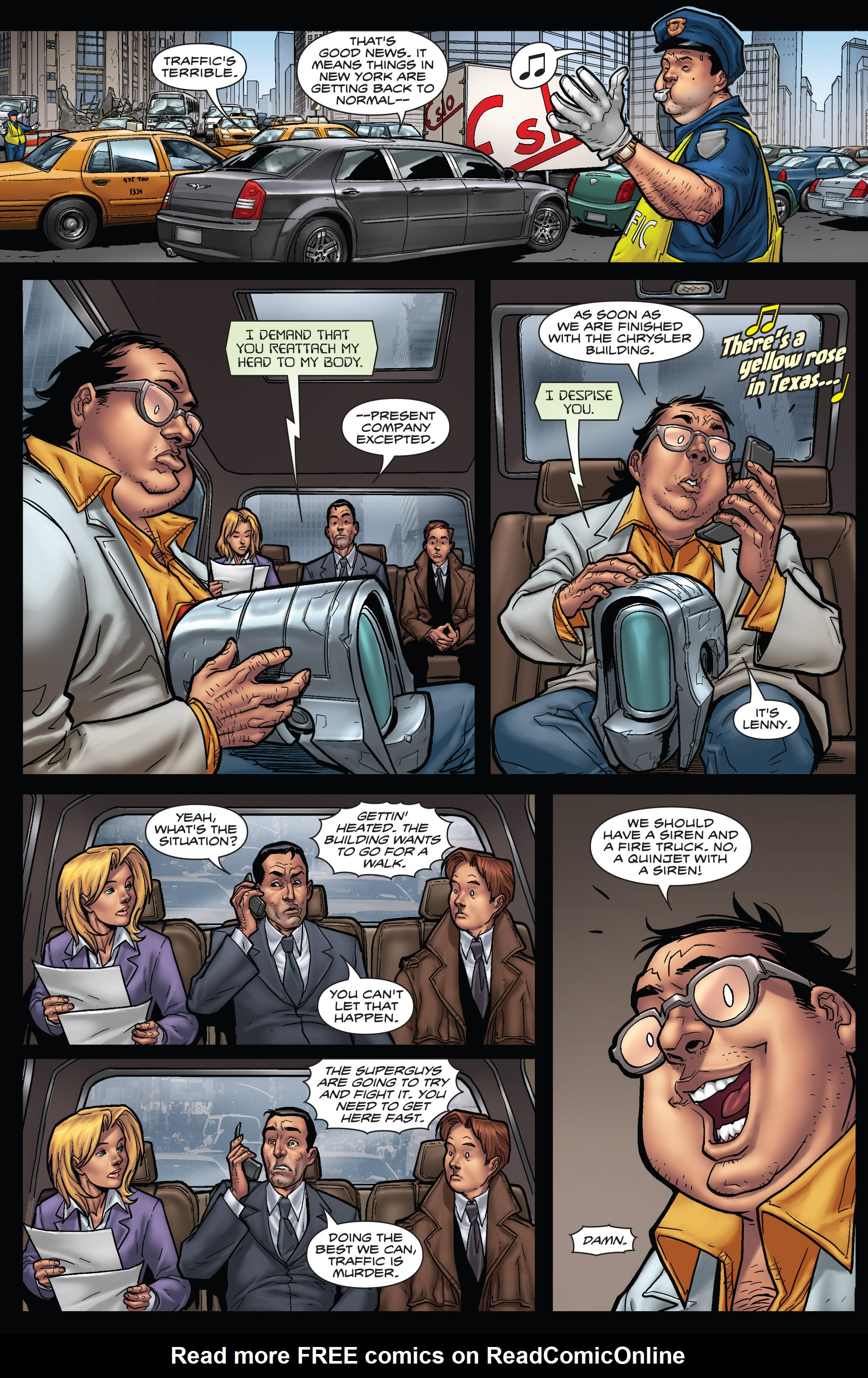 Read online WWH Aftersmash: Damage Control comic -  Issue #3 - 16