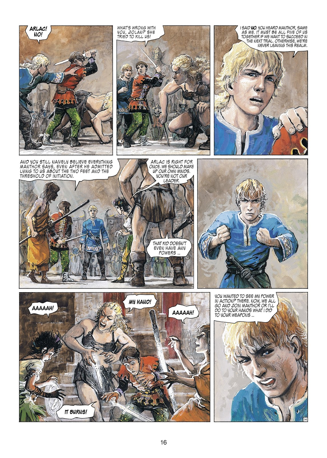 Read online Thorgal comic -  Issue #23 - 18