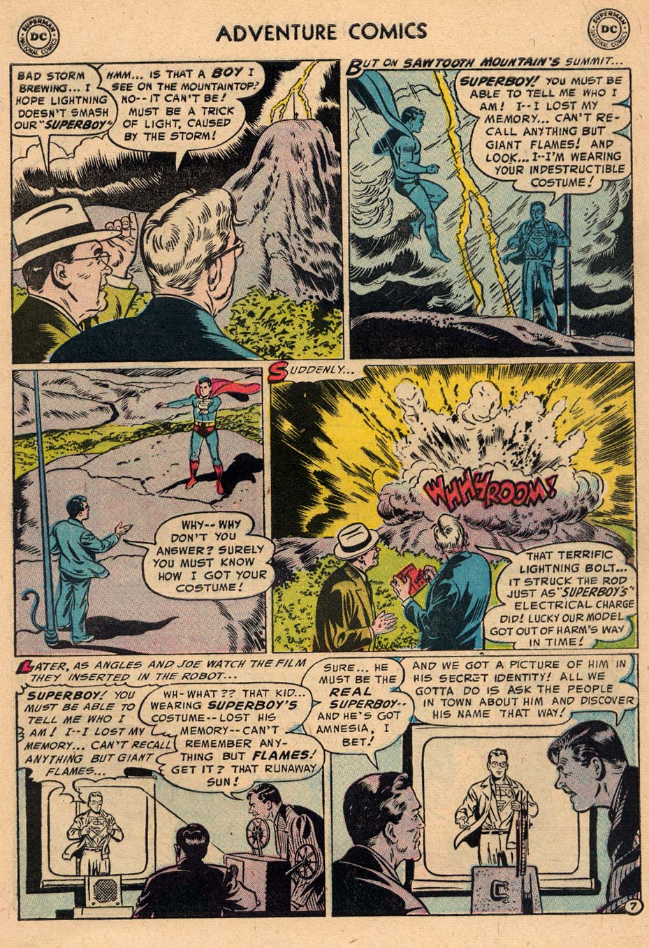 Read online Adventure Comics (1938) comic -  Issue #212 - 9