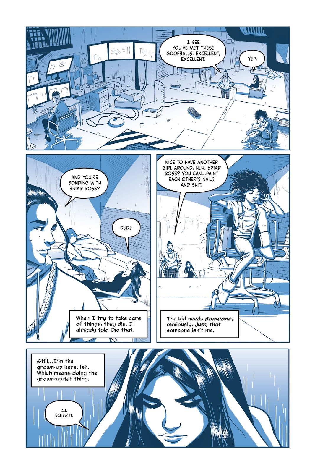 Read online Under the Moon: A Catwoman Tale comic -  Issue # TPB (Part 2) - 14