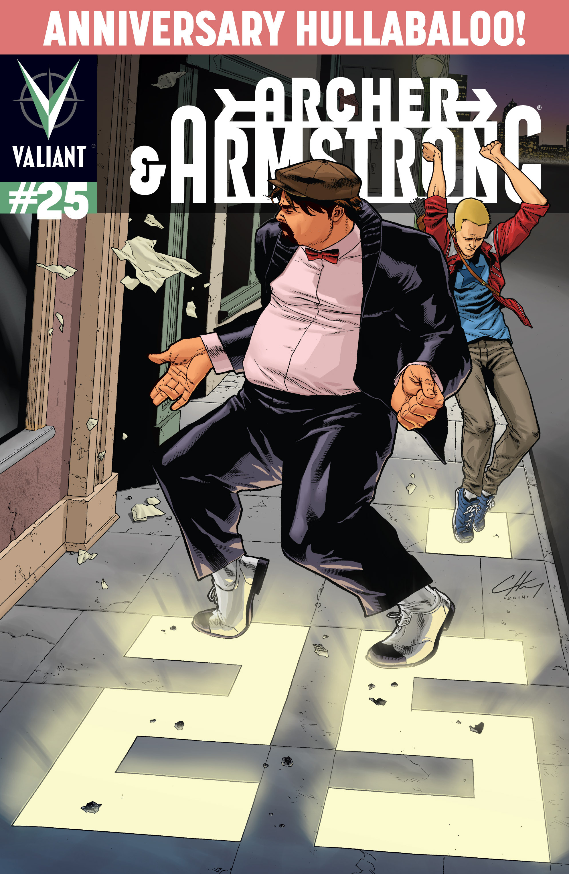Read online Archer and Armstrong comic -  Issue #Archer and Armstrong _TPB 7 - 31