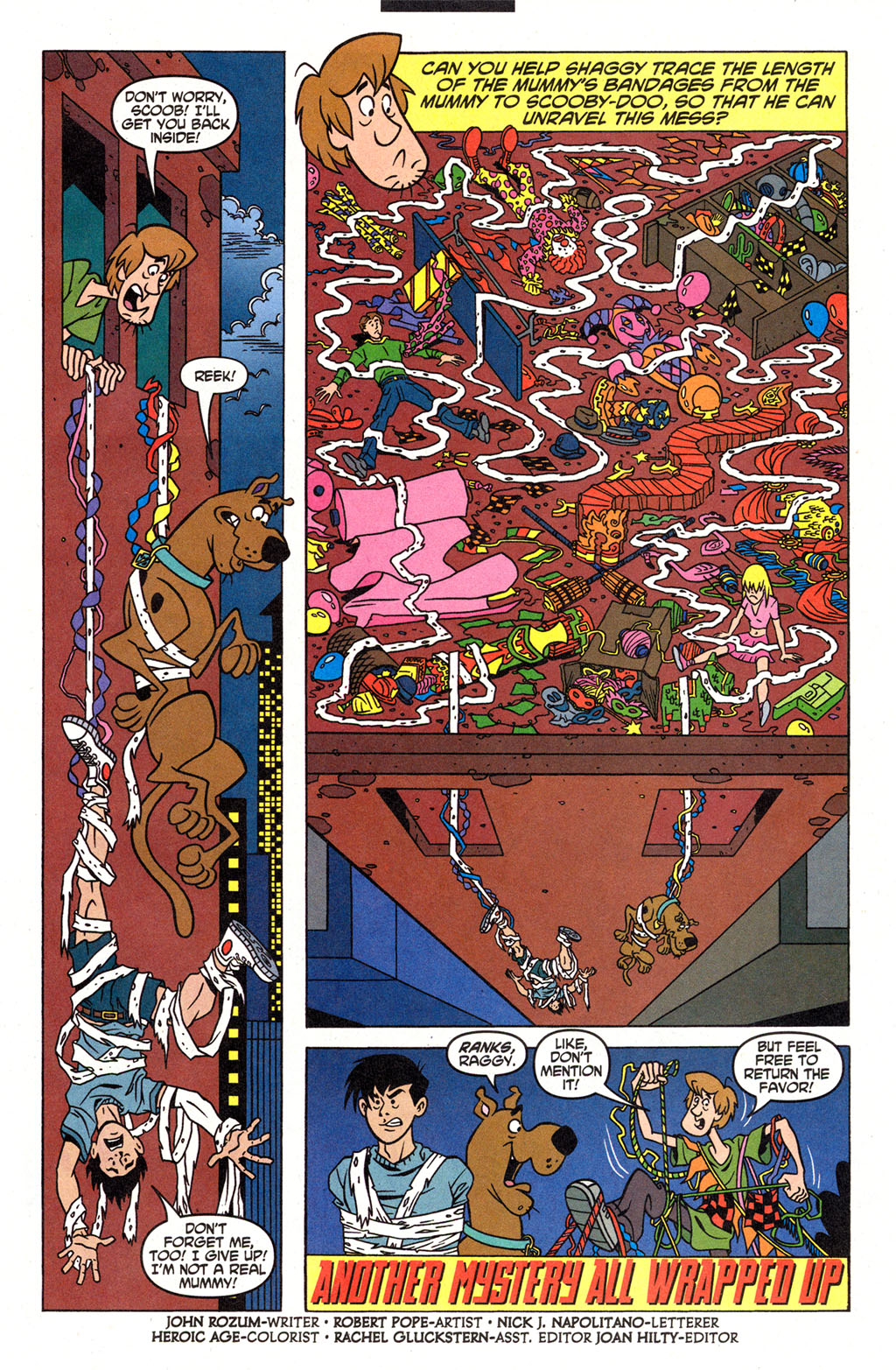 Read online Scooby-Doo (1997) comic -  Issue #96 - 13