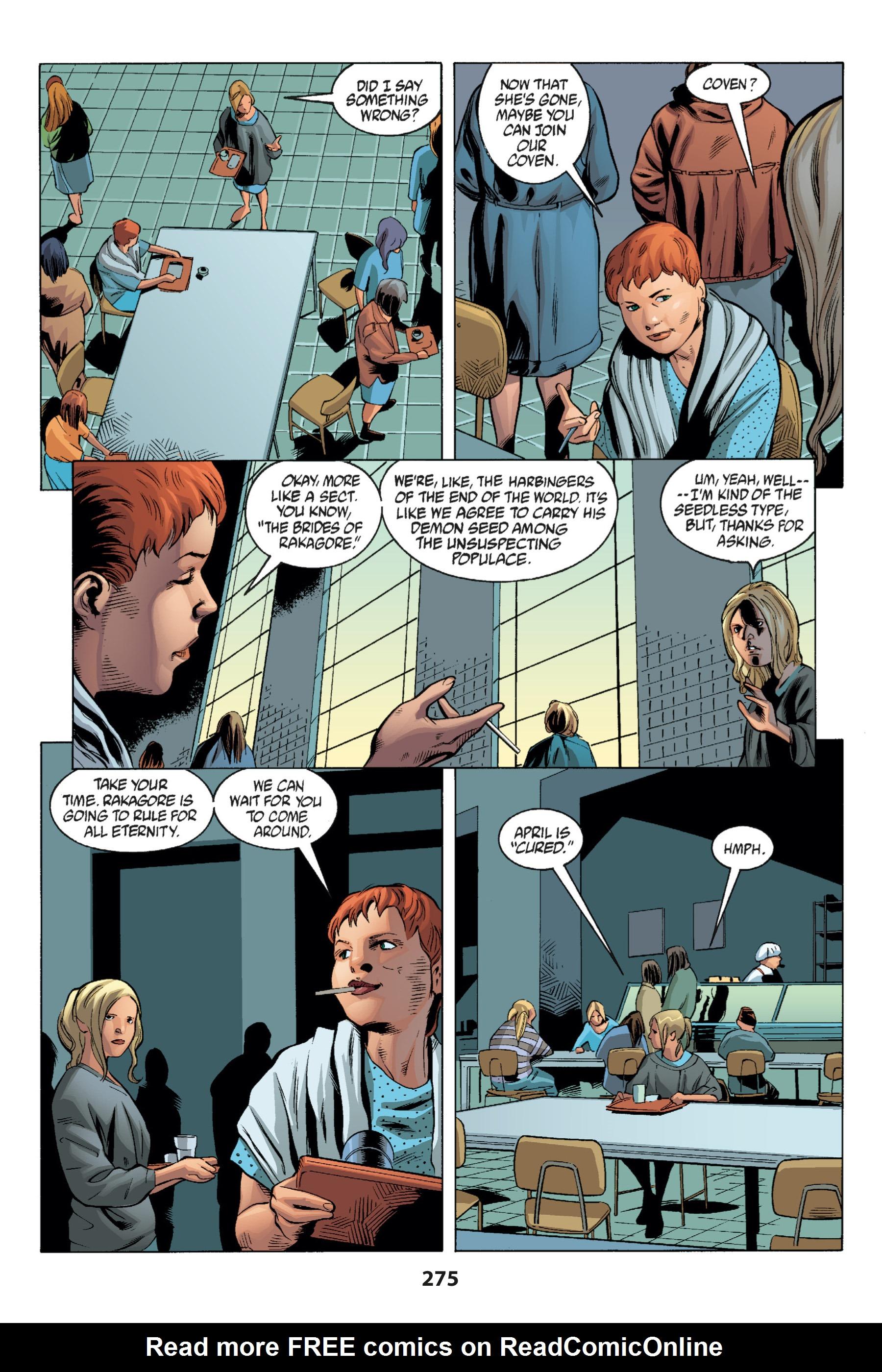 Read online Buffy the Vampire Slayer: Omnibus comic -  Issue # TPB 1 - 266