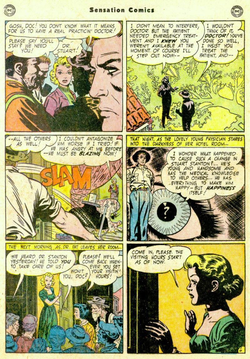 Read online Sensation (Mystery) Comics comic -  Issue #98 - 22